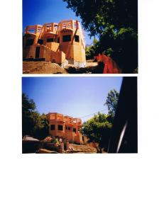 a  Kensington House under construction, Berkeley Hills, CA 2001