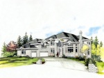 This is a show house in suburban Vancouver, BC wth design consulting by William Edward Summers