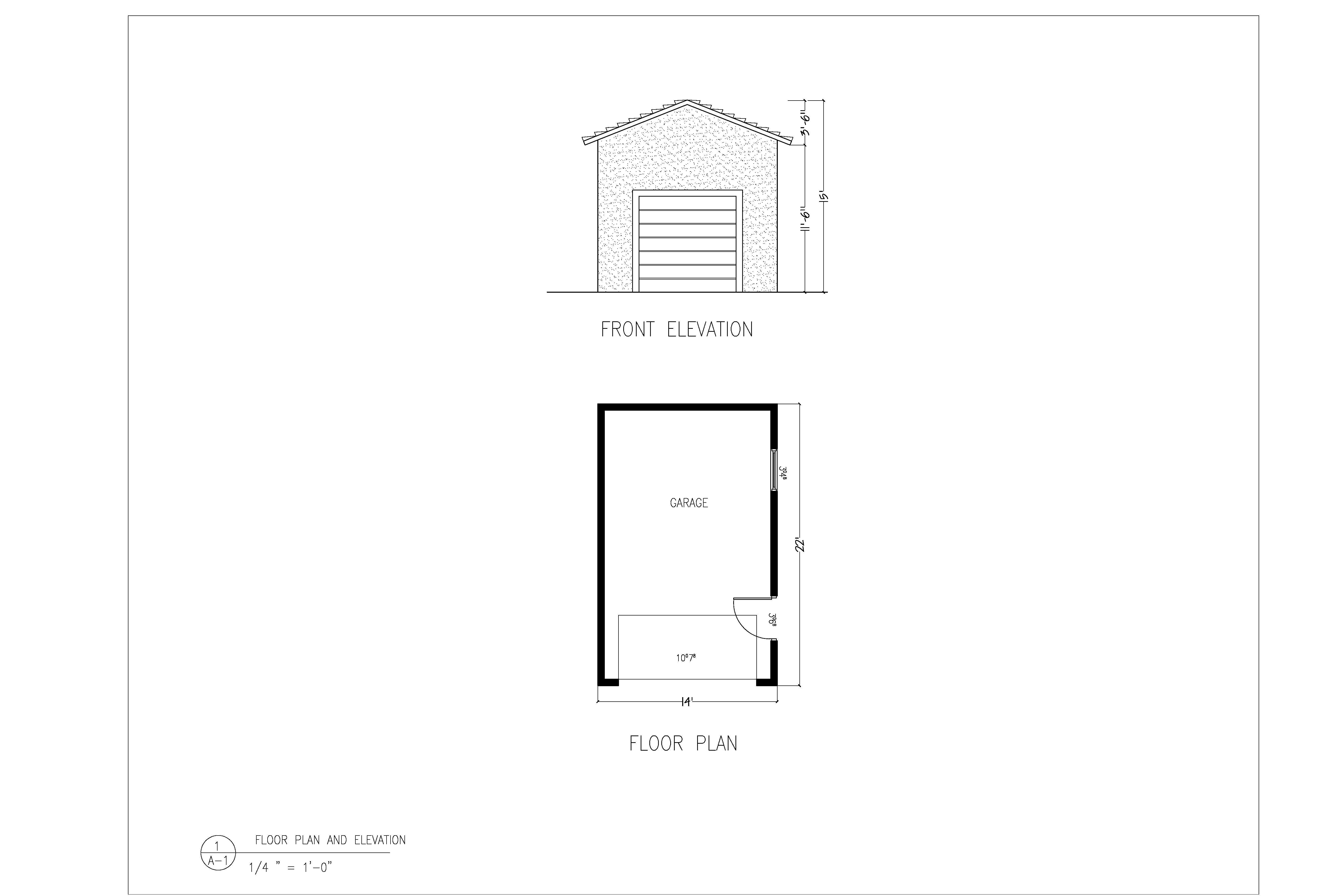 Elevation Plan Requirements : Micro coach house william edward summers
