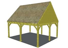 carport steep roof